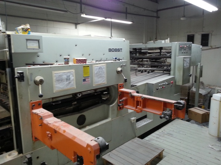 bobst machine
